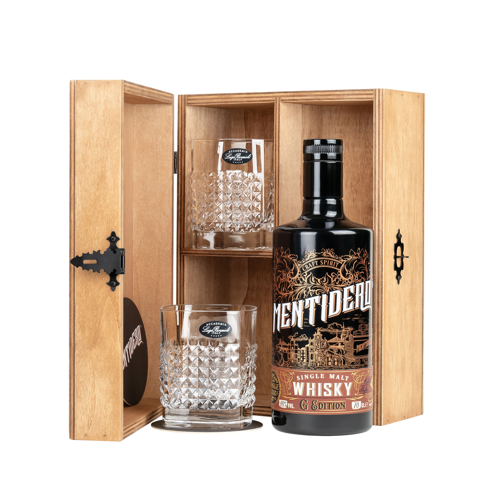Whisky Mentidero G Edition set regalo