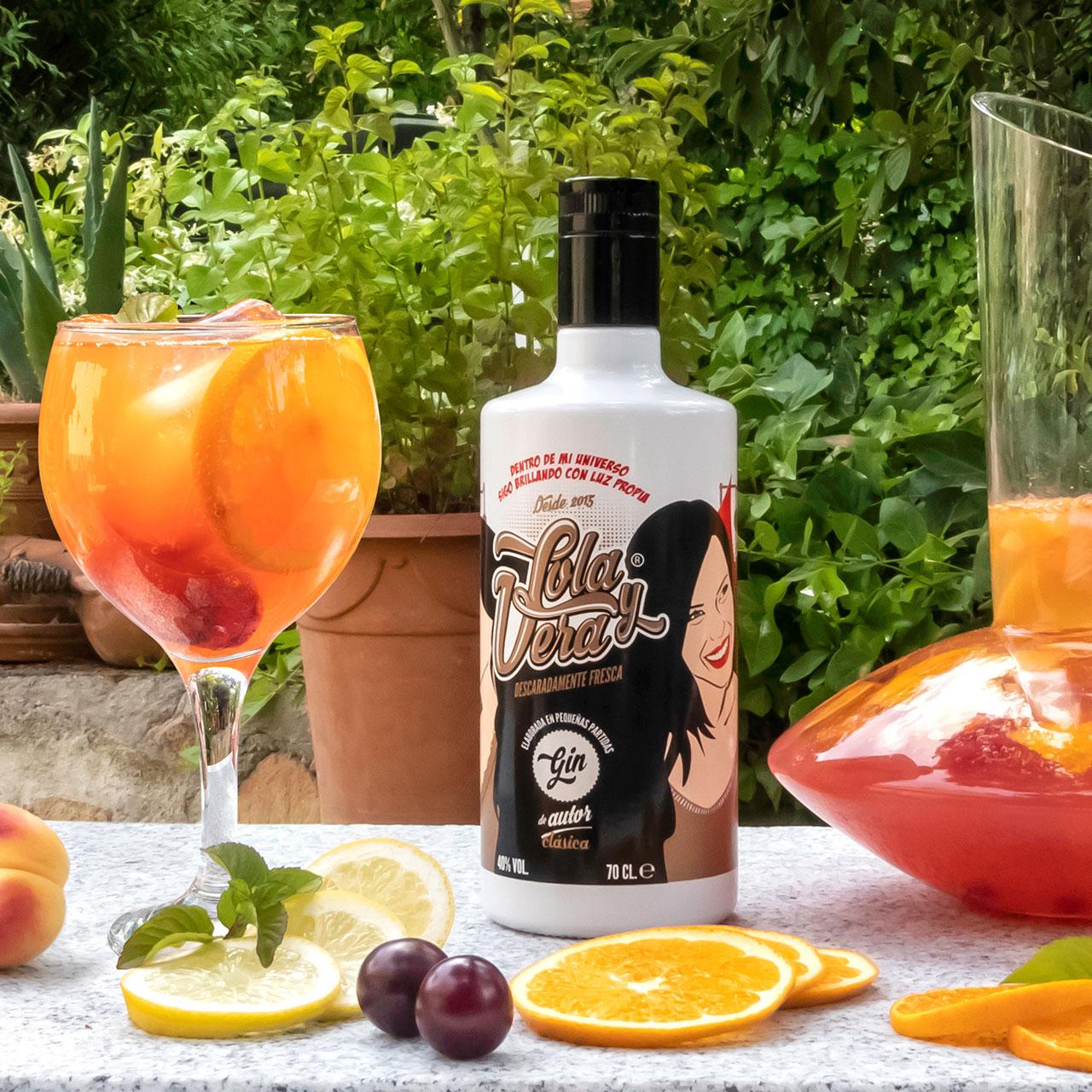 Lola y Vera Naranjas de Sevilla - Craft Gin