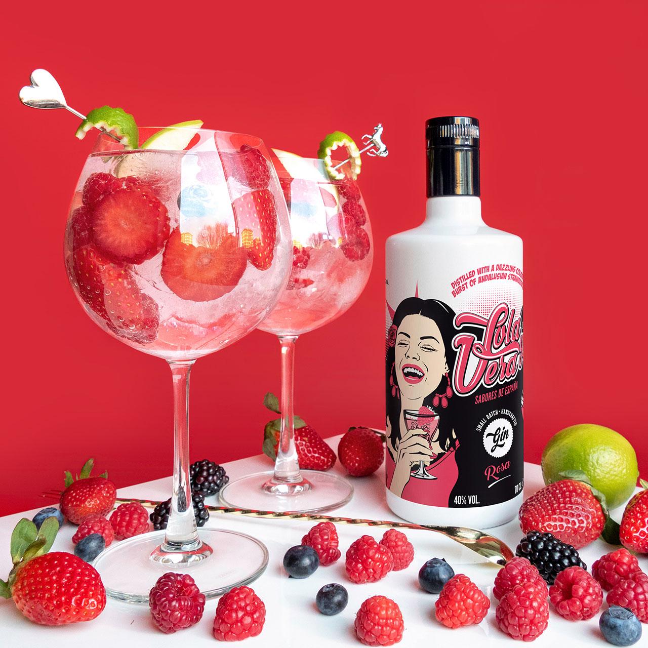 Lola y Vera Rosa - Craft Gin