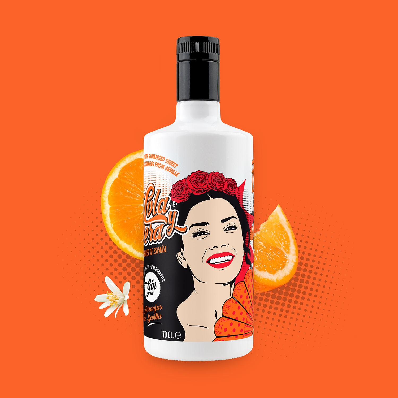 Lola y Vera Naranjas de Sevilla – Craft Gin