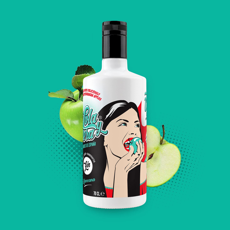 Lola y Vera Manzana - Craft Gin